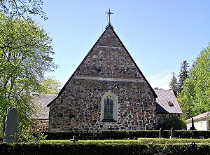 Nagu - Image: Nauvo church