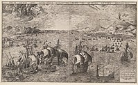 Naval Battle in the Strait of Messina by Frans Huys at Boijmans.jpg