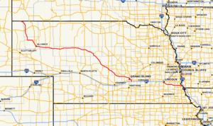 Nebraska Highway 2 - Image: Nebraska Highway 2