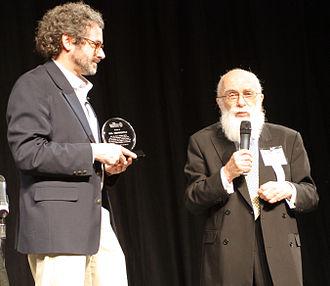 Neil Gershenfeld - Gershenfeld with James Randi at TAM 5.