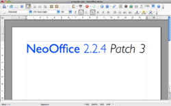 NeoOffice 2.2.4 Patch 3 Writer.png