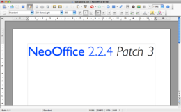 NeoOffice 2 Writer