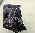 Neolitico, cultura di ozieri, frammento di vaso con figurette umane, 3500-2700 ac ca. 01.JPG