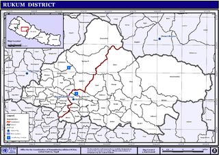 Musikot, Western Rukum Municipality in Karnali Pradesh, Nepal