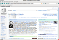 Nestcape Navigator 9 exibindo a página inicial da Wikipédia.png