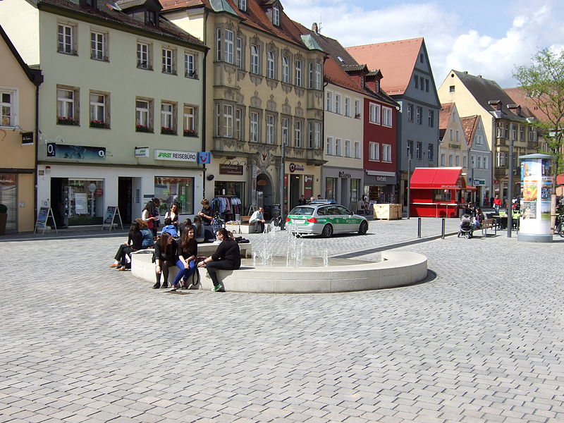 datei neuer brunnen bayreuth am markt jpg wikipedia. Black Bedroom Furniture Sets. Home Design Ideas