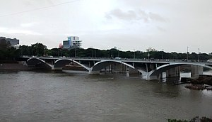 Mula-Mutha River - New Yerwada Bridge over the Mula-Mutha River