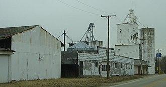 New Ross, Indiana - Image: New ross grain