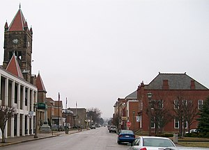 National Register of Historic Places listings in Wetzel County, West Virginia - Image: New Martinsville Historic District