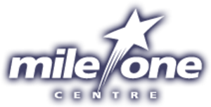 Mile One Centre - Image: New Mile One Logo