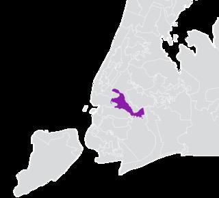 New Yorks 18th State Senate district American legislative district