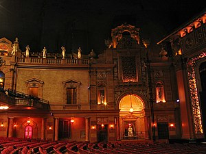 Saenger Theatre (New Orleans) - Interior before Katrina