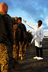 Newly arrived Marines to Liberia get their Tempereture checked 141009-A-ZZ999-042.jpg