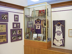 Gallagher Center - Gallagher Center also hosts the Niagara Hall of Fame