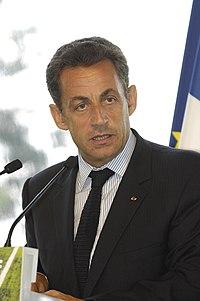 Nicolas Sarkozy à un meeting du MEDEF, le 20 septembre 2007