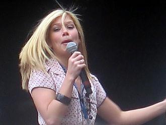 Nikki Sanderson - Sanderson in Manchester in 2007