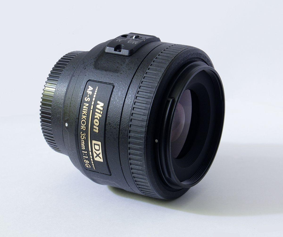 Nikon AF-S DX Nikkor 35mm f/1.8G - Wikipedia