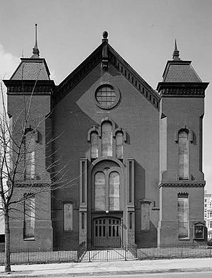 Nineteenth Street Baptist Church (Washington, D.C.) - The original site of Nineteenth Street Baptist Church