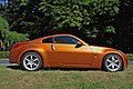Nissan 350Z Premium Pack sunset orange, 2003, side view.jpg