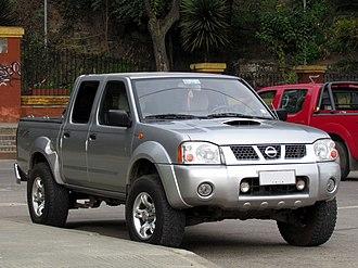 Nissan Navara - 2006 Navara facelift Nissan D22 Terrano AX