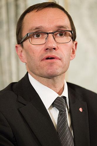 Espen Barth Eide - Image: Nordiskt baltiskt statsministermote under Nordiska radets session i Helsingfors (1)