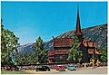 Norge- Lom stavkirke, restaurert i 1933. Nevnes første gang i 1270, men er atskillig eldre. (5157278107).jpg