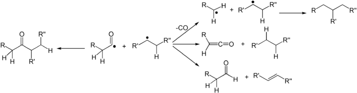 Norrish type I reaction