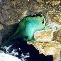 North Caspian Sea, MERIS, 22 September 2003 ESA222068.jpg