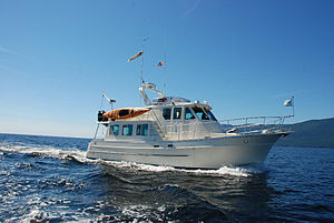 Recreational trawler - North Pacific 43 foot pilothouse trawler yacht