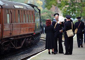 North Yorkshire Moors Railway - War-Time Weekend