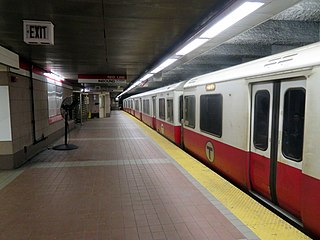 South Station (subway) Boston MBTA subway station
