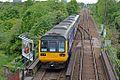 Northern Rail Class 142, 142038, Bredbury railway station (geograph 4512656).jpg