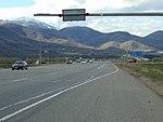Northwest at the US-40 US-189 & SR-32 junction, Apr 16.jpg