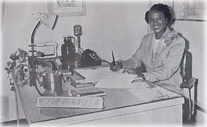 Miami Northwestern Senior High School - Mrs. Ida Ratcliffe was appointed the first principal in August 1955.