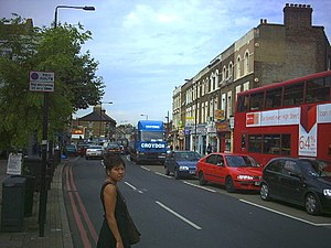 Tulse Hill - Image: Norwood Road, Tulse Hill (A215). geograph.org.uk 49421