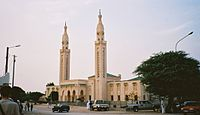 One of the mosques of Nouakchott, 2004