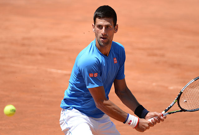 Novak Djokovic (Wikimedia Commons).