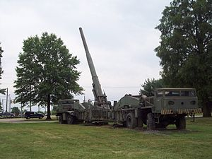 M65 atomic cannon - Image: Nuke Cannon 3