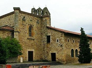 Exterior del Monasterio de Bidaurreta