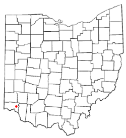 Location of Silverton, Ohio