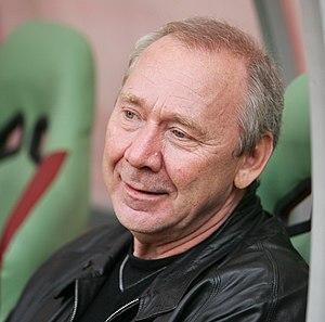 Oleg Romantsev - Romantsev at a game in 2012