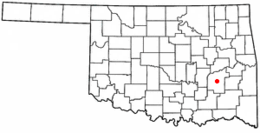 McAlester – Mappa