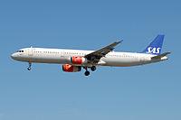 OY-KBE - A321 - SAS