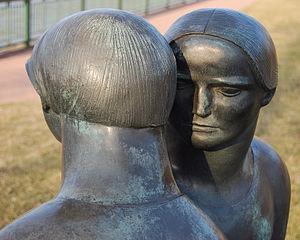 Joe Rosenthal (sculptor) - Image: Odette Sculpture Park Consolation 02