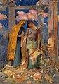 Odilon Redon - Mystical Conversation - Gifu Museum of Art.jpg