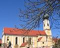 Offenstetten Pfarrkirche St Vitus.JPG