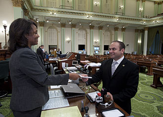 Adrin Nazarian - Nazarian introducing his first bill in his first term in office.