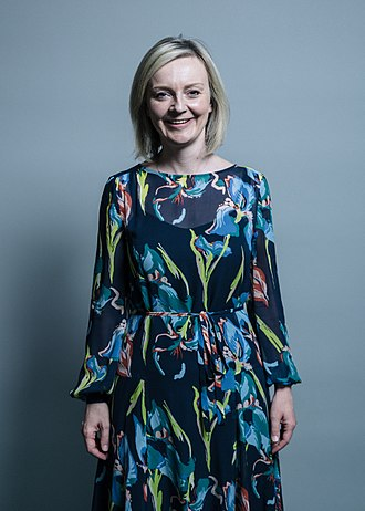 Chief Secretary to the Treasury - Image: Official portrait of Elizabeth Truss