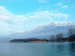 Liqenet më të mëdhenj te Shqiperise 250px-Ohrid-Lake