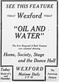 Oil and Water - 1913 - newspaperad.jpg